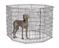 Life Stages Exercise Pens Fit A Variety Of Dog Sizes.